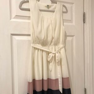 Women's off-white Dress Medium